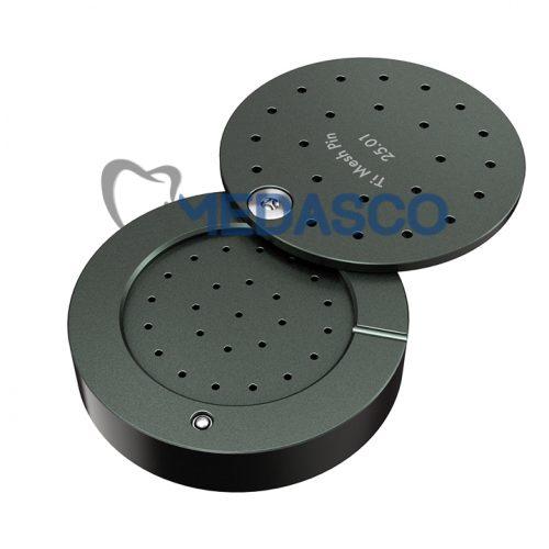 пины для фиксации мембран «Mini» - кассета круглая для хранения и стерилизации пинов