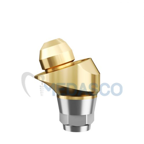 Multi-unit Osstem mini угловой 17° - Угловой Multi-unit абатмент Osstem mini GH:1.5mm Ang:17°