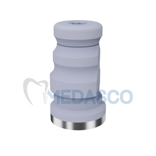 Ортопедические компоненты Multiunit Osstem - Сканбоди+трансфер для закрытой ложки. (используется для угловых аналогов)