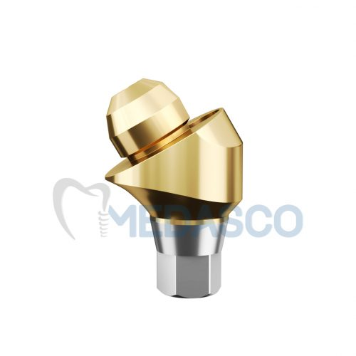 Multi-unit Osstem mini угловой 30° - Угловой Multi-unit абатмент Osstem mini GH:1.5mm Ang:30°