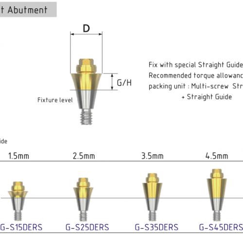 Multi-unit Osstem mini прямой