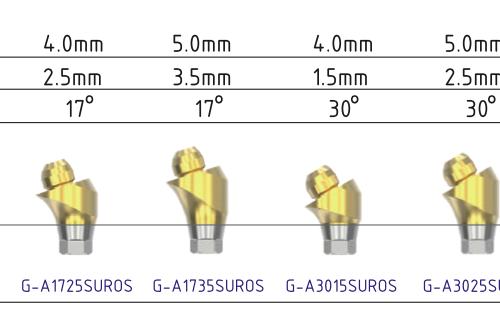 Multi-unit Osstem regular угловой 17°
